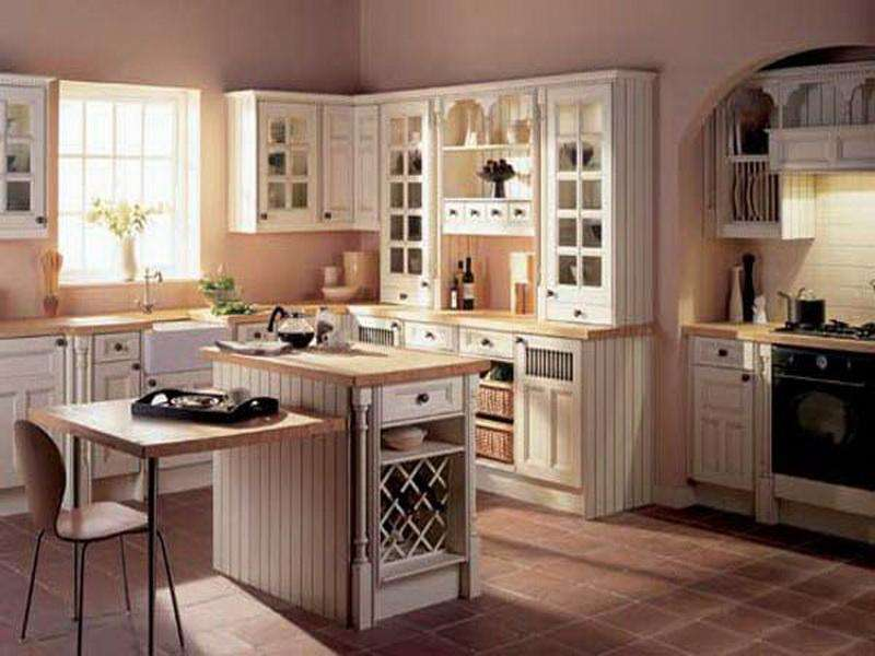 Kitchen Old Cream Country Design