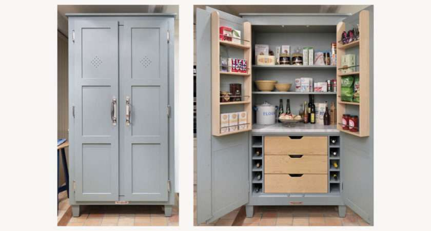 Kitchen Pantry Cupboards Standing Storage Cabinets