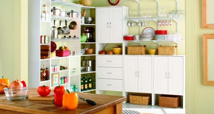 Kitchen Pantry Options Ideas Efficient Storage