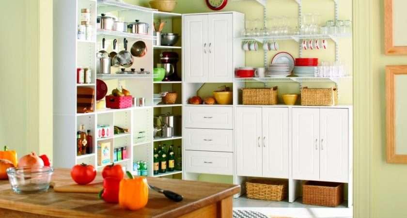 Kitchen Pantry Options Ideas Efficient