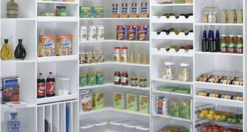 Kitchen Pantry Storage Ideas Perk Your