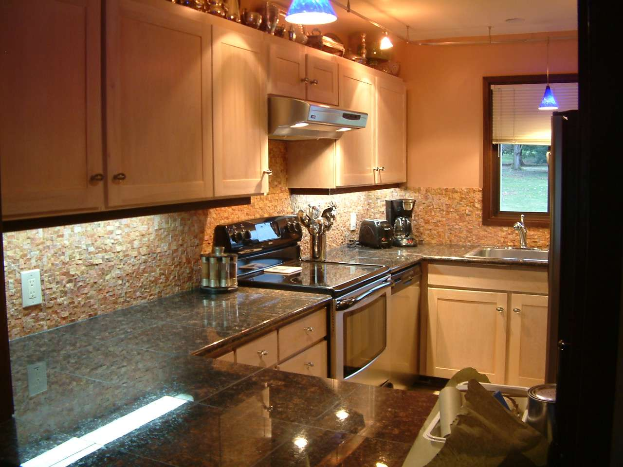 Kitchen Photos Show Our Terra Wall Tiles Used Both Backsplash