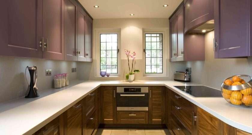 Kitchen Small Shaped Designs Modern Minimalist Style