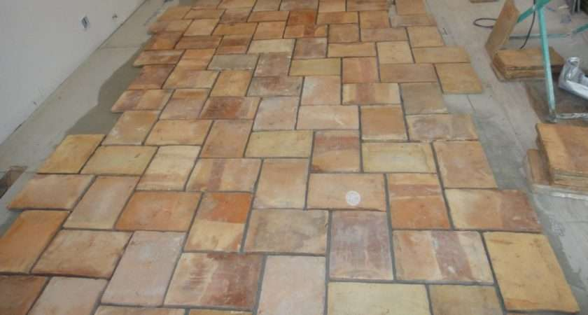Kitchen Terracotta Floor