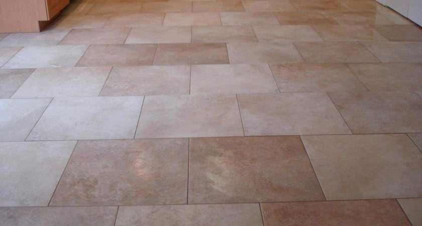 Kitchen Tile Floor Brick Pattern Mosaic Flooring