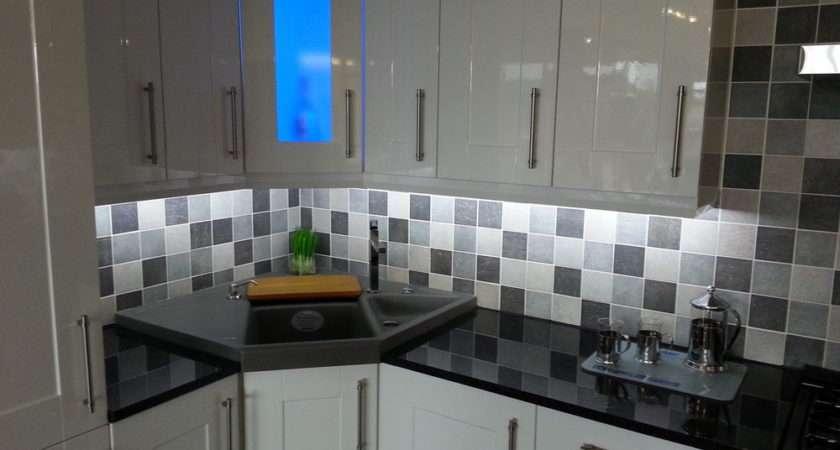 Kitchen Under Unit Pelmet Plinth Display Cabinet Ambient