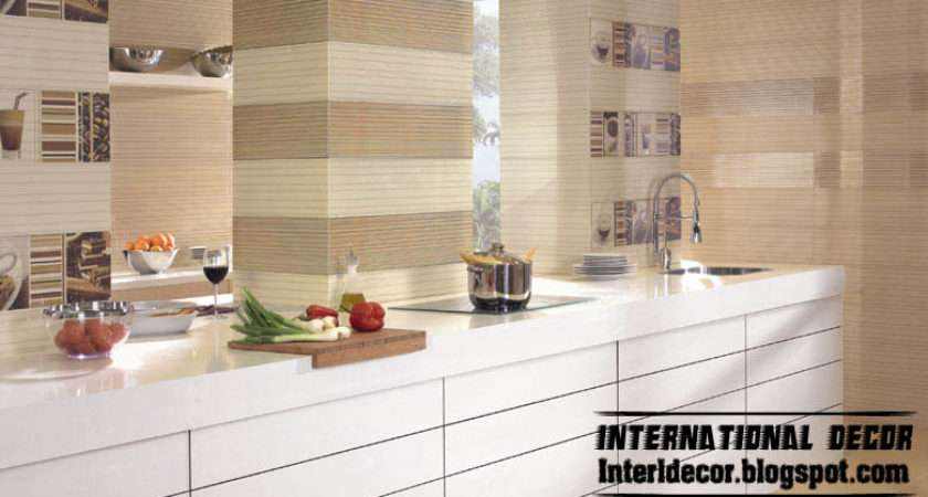 Kitchen Wall Ceramic Tiles Flooring Design
