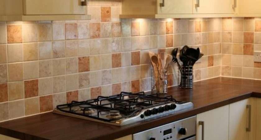 Kitchen Wall Tiles Cream Kitchens Afreakatheart