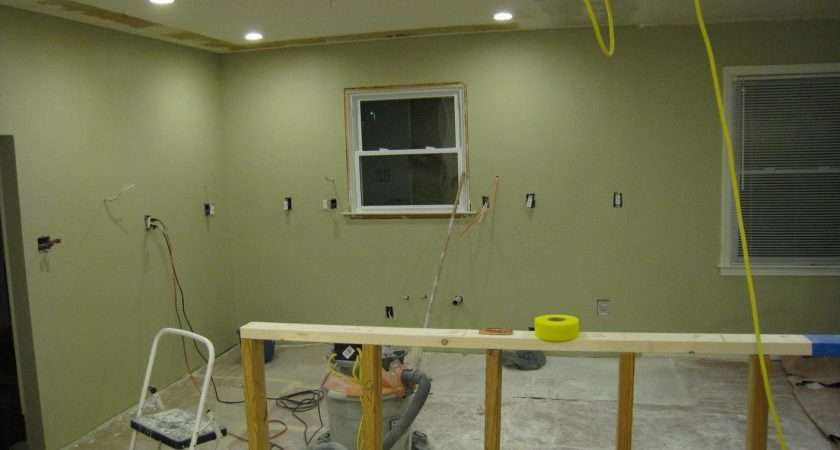 Kitchen Walls Painted
