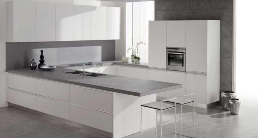 White Kitchen Grey Floor Ideas Photo Gallery Lentine Marine 28031