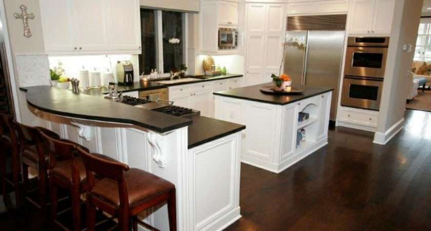 Kitchens Dark Floors
