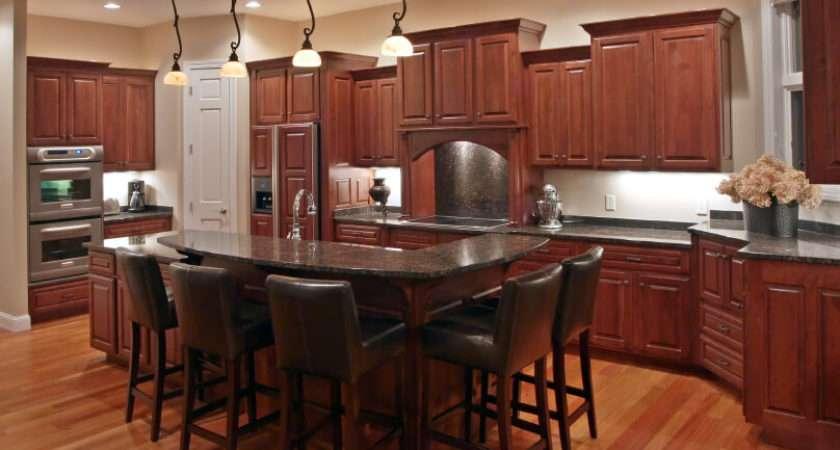 Kitchens Dark Wood Floors