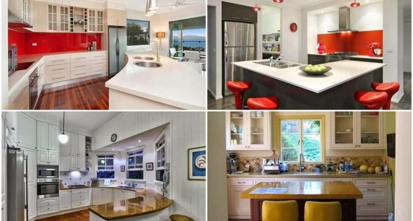 Kitchens Fantastic Designs Small Spaces Interior Design