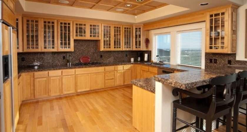 Kitchens Hardwood Floors