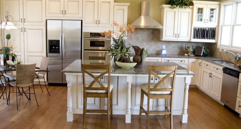 Kitchens Traditional Off White Antique