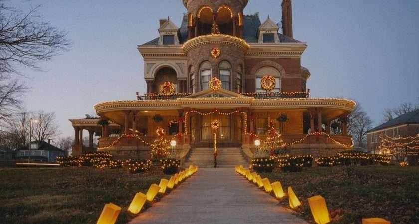 Kokomo Seiberling Mansion Christmas Delight