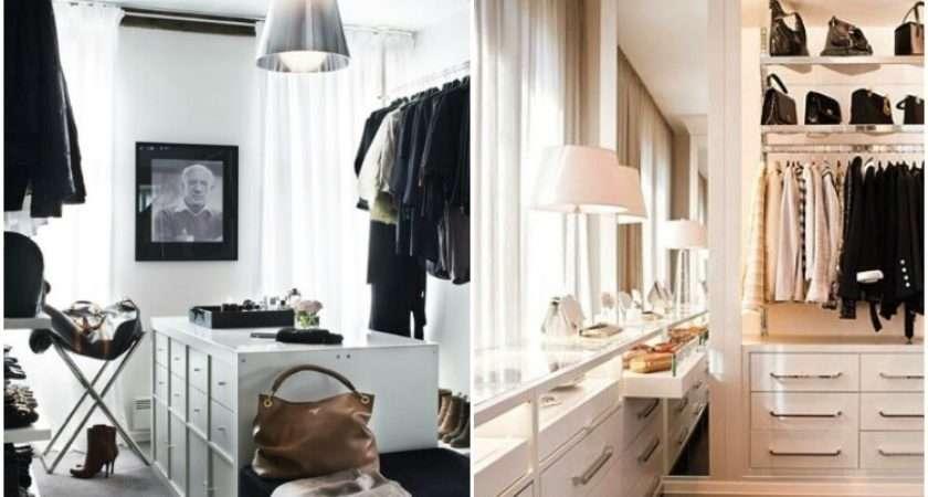 Kris Jenner Closet Black White Closets