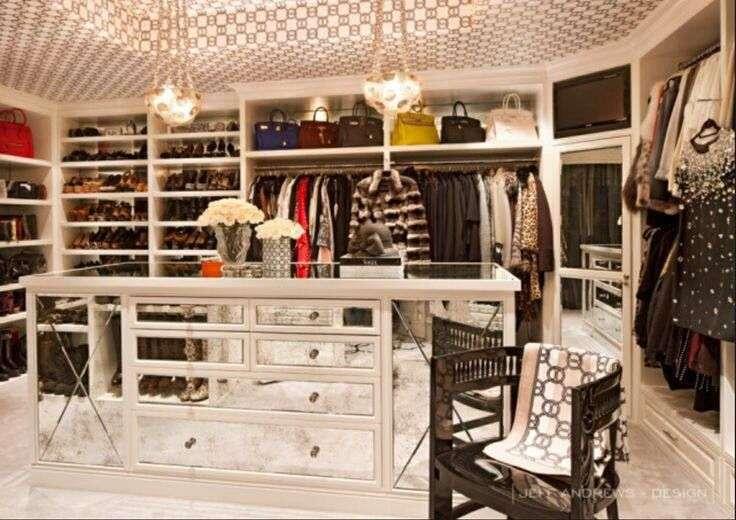 Kris Jenner Closet Home Pinterest