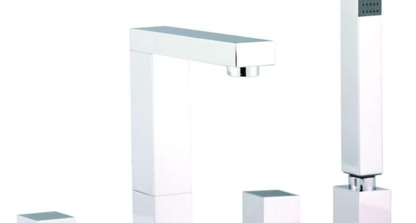 Kubix Designer Tap Hole Bath Shower Mixer Taps Spr