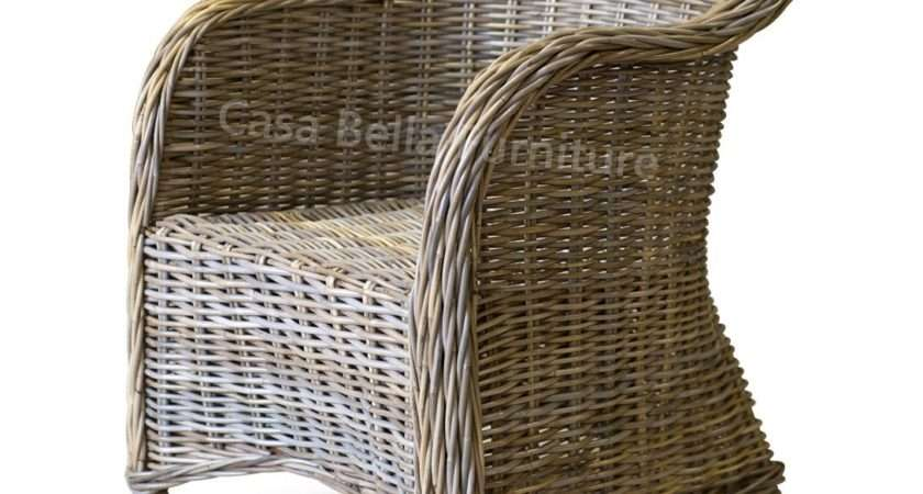 Kubu Rattan Armchair Casa Bella Furniture