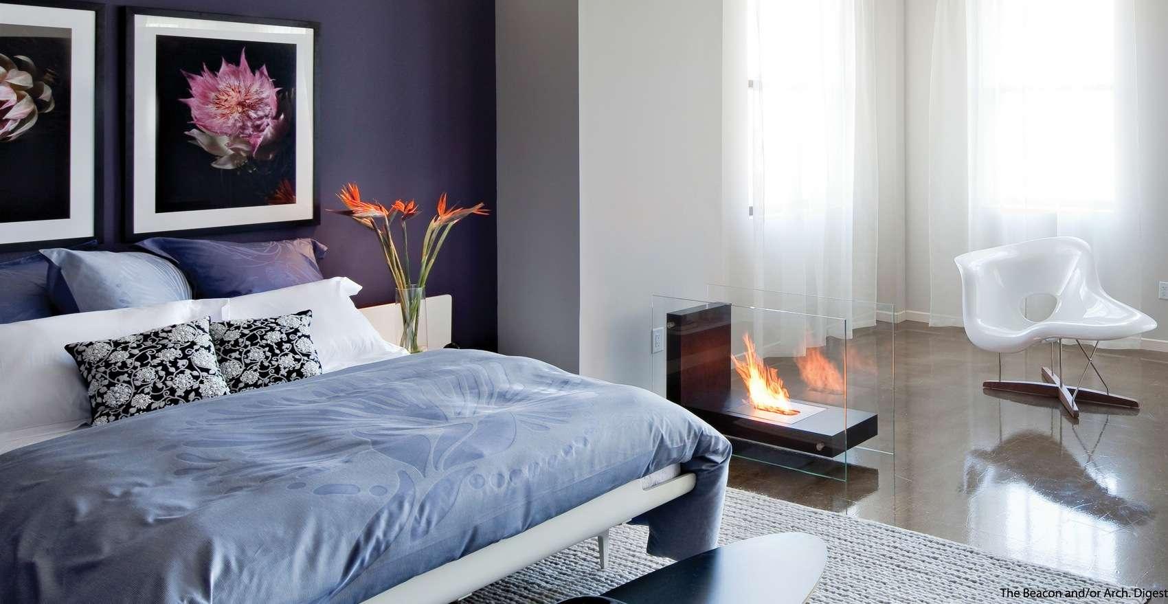 Lack Luster Room Into Market Romantic Hideaway