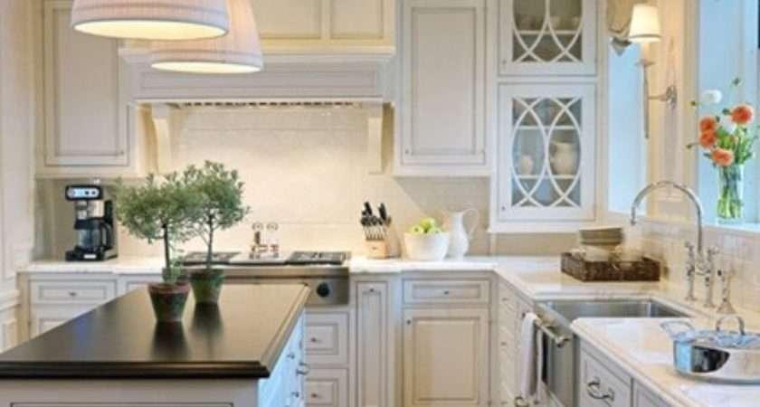 Lamb Blonde Beautiful White Kitchens