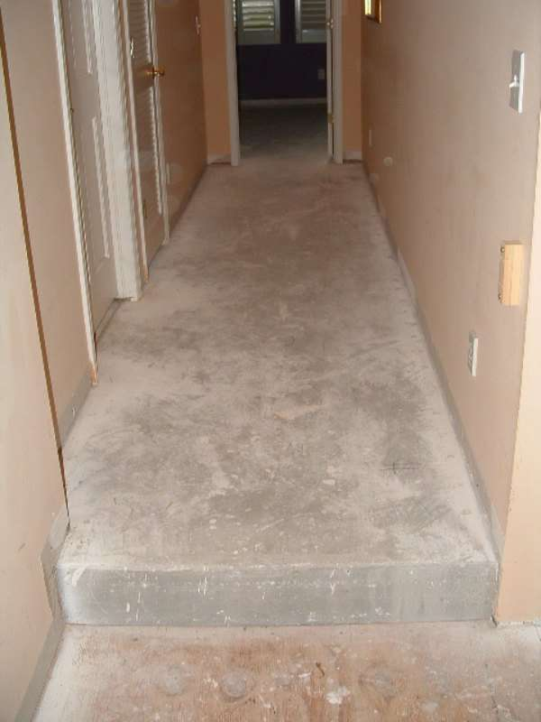Laminate Flooring Measure Hallway