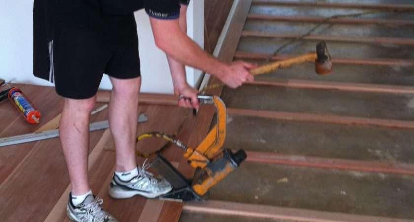 Laminate Flooring Top Concrete Slab