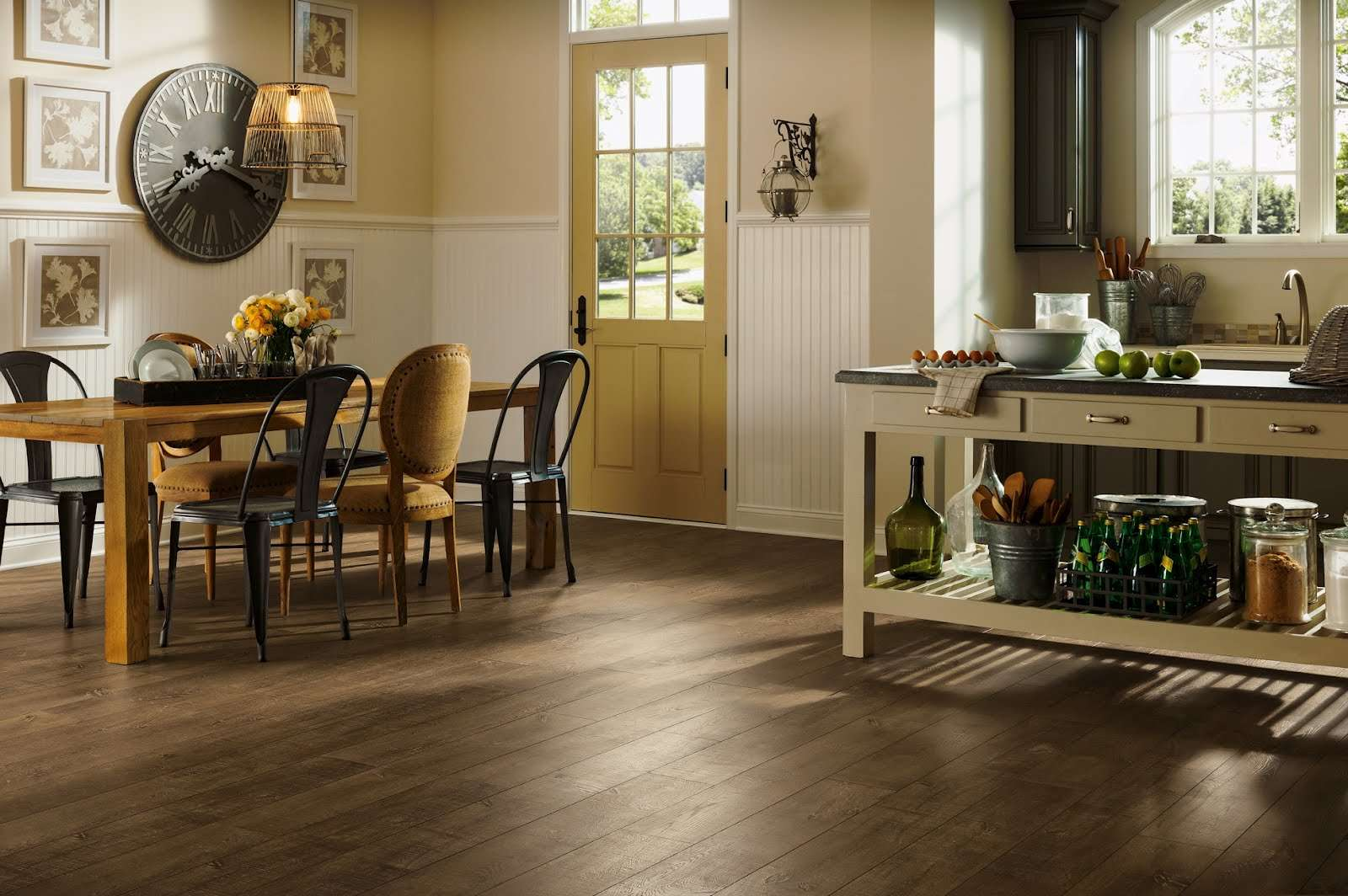 Laminate Flooring Water Kitchen