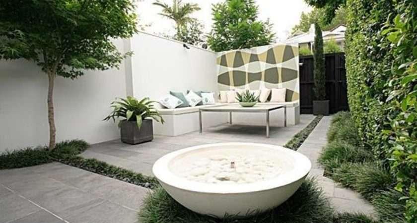 Landscape Modern Patio Ideas Turning Small Backyard Designs