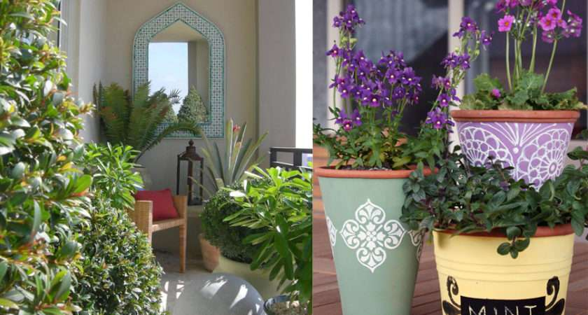 Landscaping Your Balcony Into Small Garden