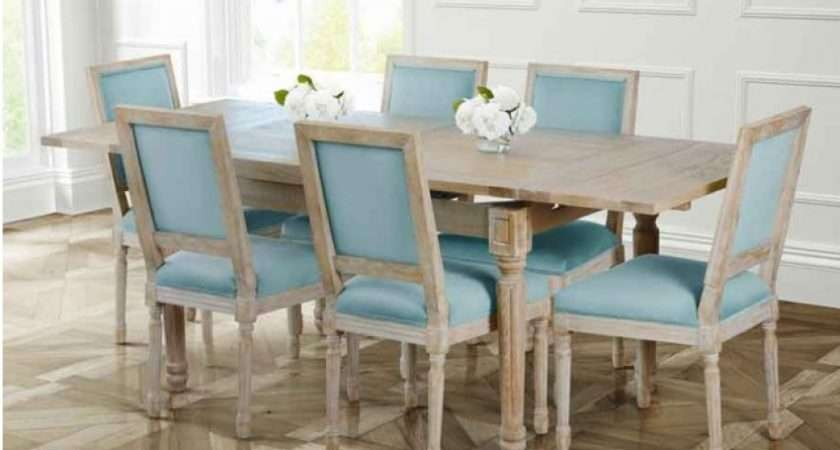 Large Esteban Extending Dining Table Solid Oak French Style