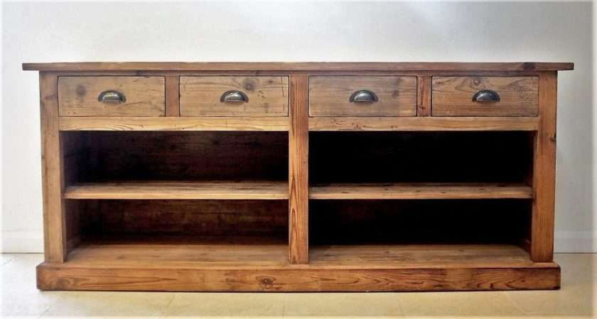 Large Rustic Sideboard Reclaimed Wood Cambrewood