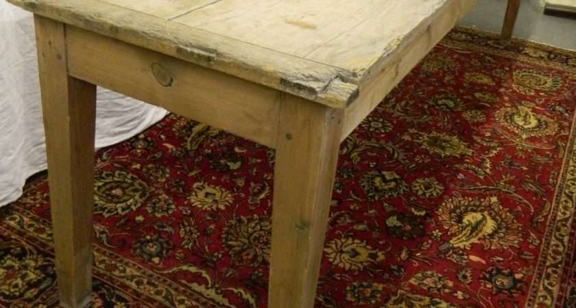 Large Scrubbed Pine Table Antiques Atlas