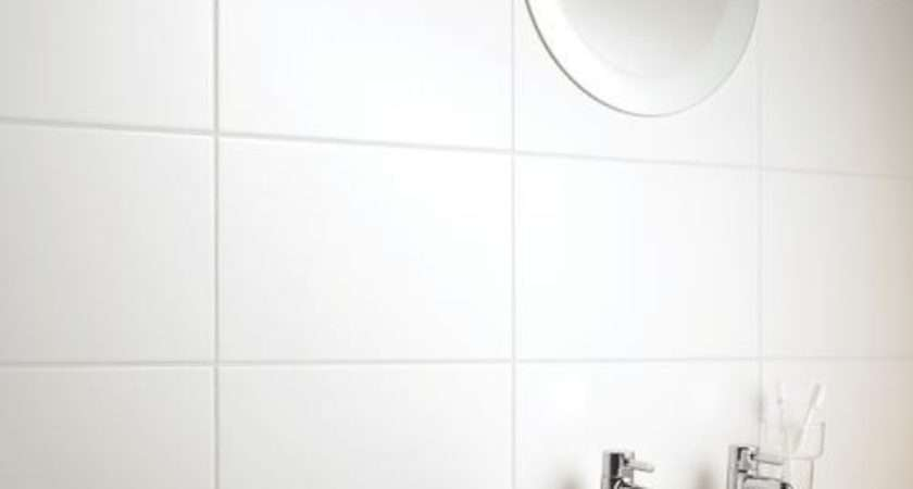 Large White Bathroom Tiles Ideas