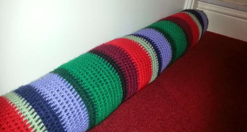 Lariath Live Little Crochet Draught Excluder