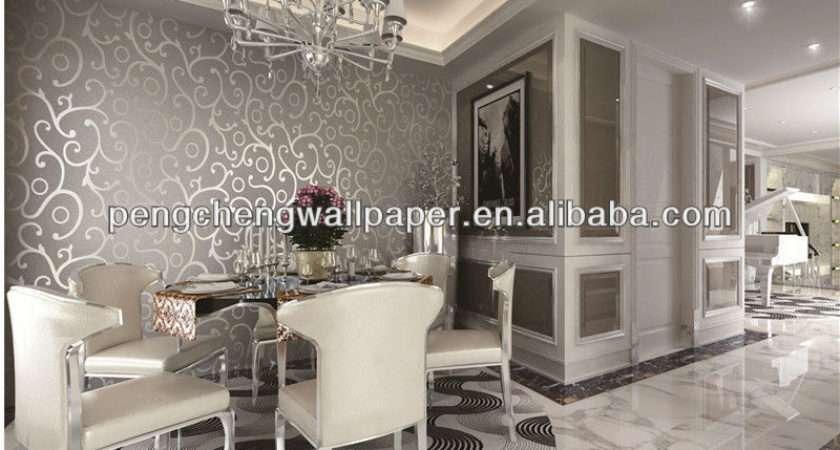 Lastest Design Decorative Modern Silver Metallic