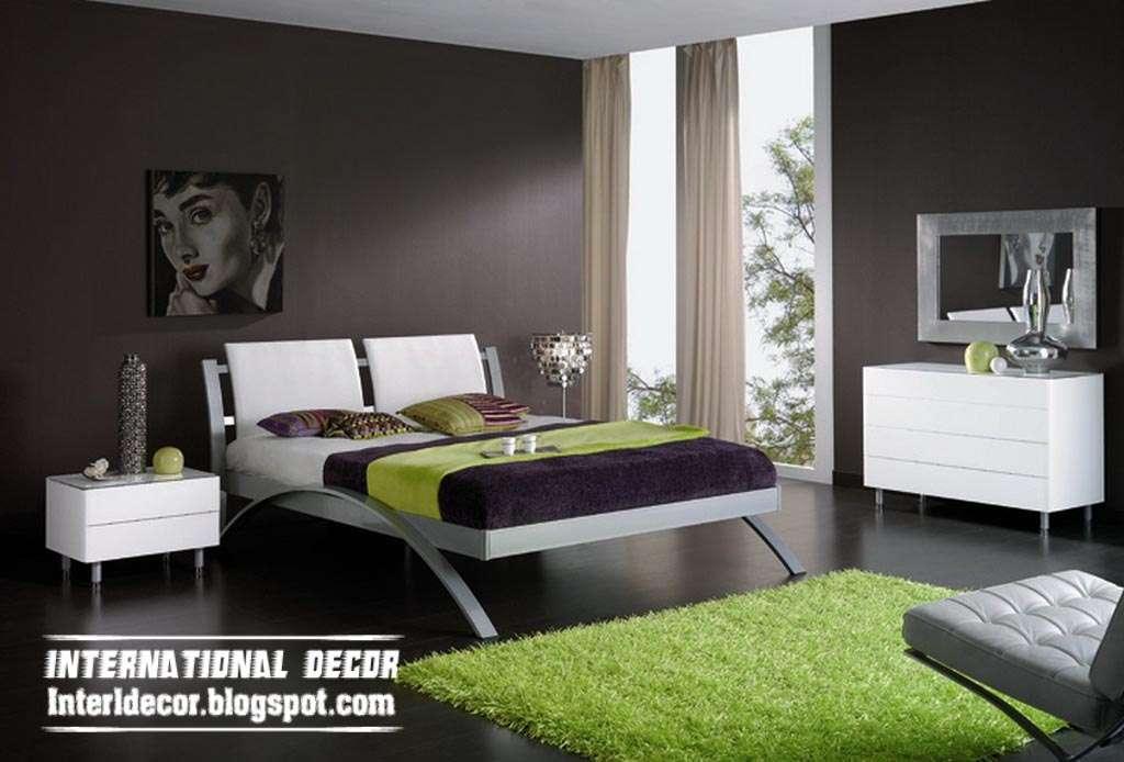 Latest Bedroom Color Schemes Paint Colors