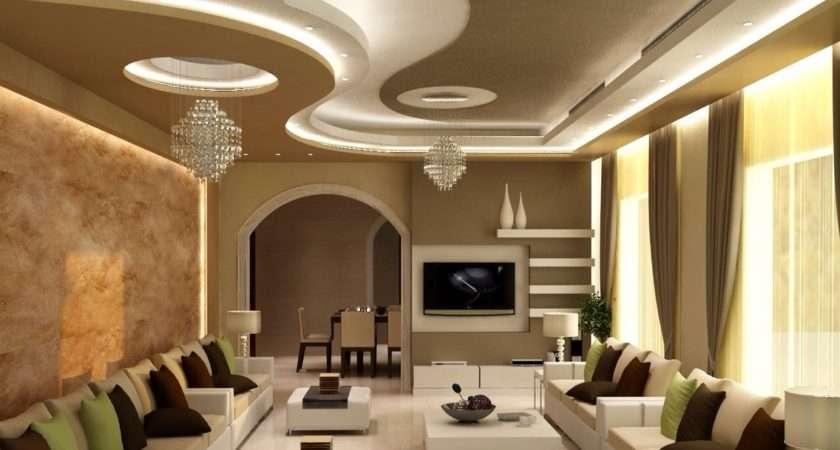 Latest Gypsum Board False Ceiling Designs Led