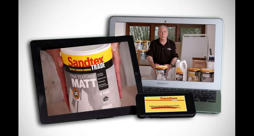 Latest Sandtex Trade Video Offers Guide Masonry Paints