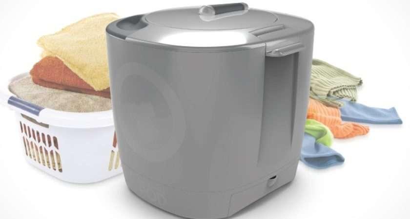 Laundry Pod Sil Grey Portable Hand Powered Washer Washing Machine