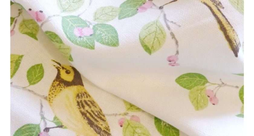 Laura Ashley Aviary Garden Apple Fabric Roman Blinds