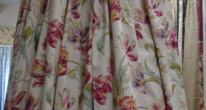 Laura Ashley Floral Print Curtain Emporium