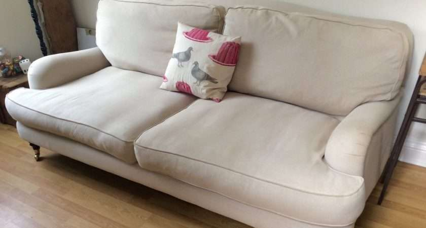 Laura Ashley Lynden Seater Sofa Linen Fabric Rrp