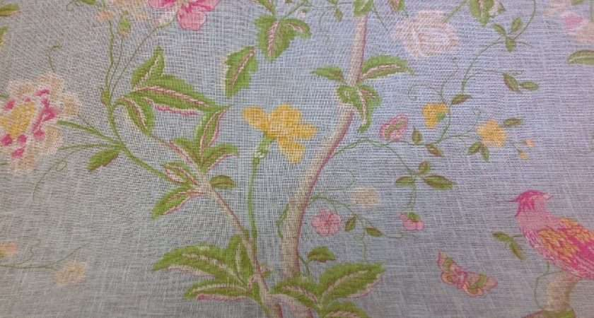 Laura Ashley Summer Palace Designer Curtain Fabric