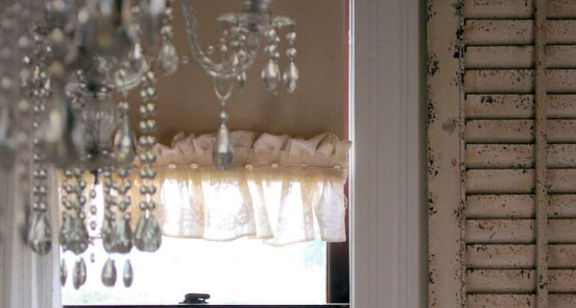 Laurieanna Vintage Home Diy Ruffled Roller Shades