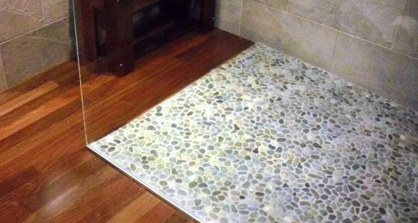 Lay Pebble Tile Floor Tos Diy