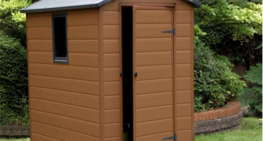 Learn Build Shed Get Plastic Garden Storage