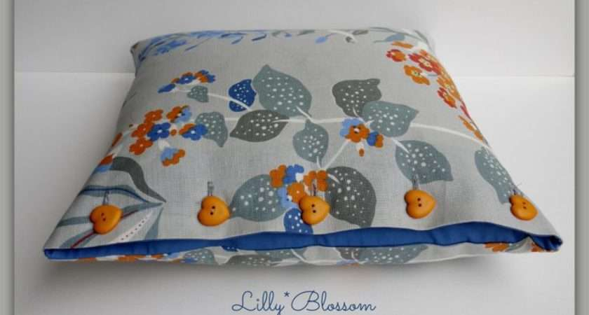 Learn Make These Cushion Covers Simple Button Closures