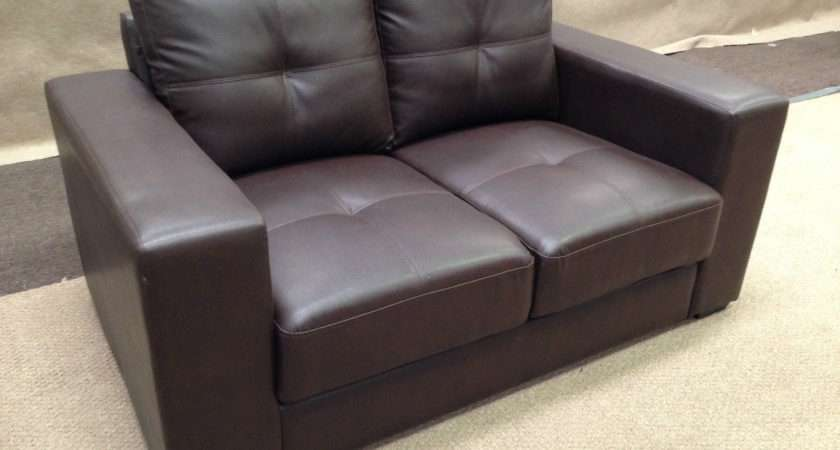 Leather Sofa Brown Color Seater